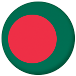Bangladesh Country Flag 58mm Button Badge